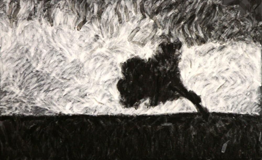 Картина на океанските вълни на e-David,