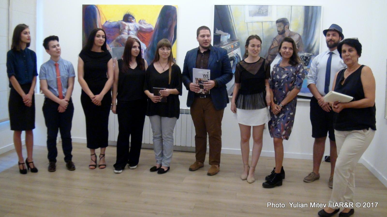 """Откриване на изложбата """"Универсална еротика"""" в галерия """"Стубел"""" на 28 август 2017 г."""