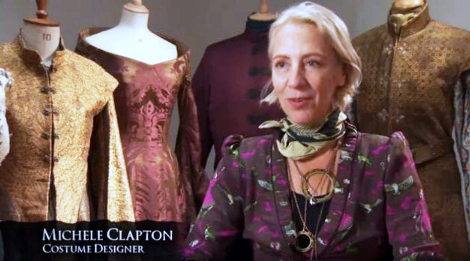 """Дизайнерката на сценичните костюми в """"Игра на тронове"""" Мичъл Клептън"""