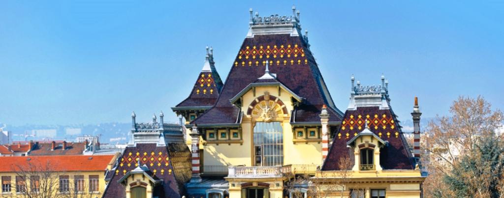 """Институтът """"Братя Люмиер"""" се познава отдалеч по оригиналния си покрив. Фото от сайта на института"""