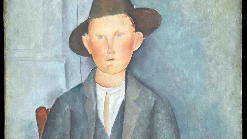 """Амедео Модилиани, """"Млад селянин"""" (фрагмент), 1918. Photo: Tate Photo © Tate"""