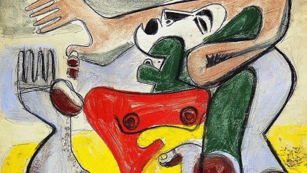 Ле Корбюзие (фрагмент), представен от галерия Aktis. Фото AKTIS GALLERY