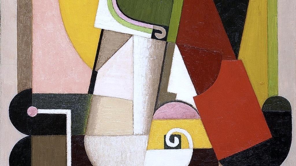 "Огюст Ербен. ""Композиция"" (фрагмент). 1918. Галерия Damien Boquet Art. Фото Thierry Ollivier"
