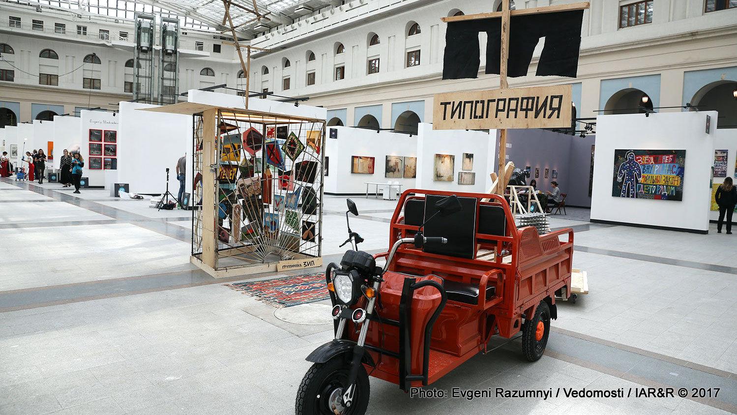 Тази година участват 54 галерии, гордо съобщават организаторите на артпанаира