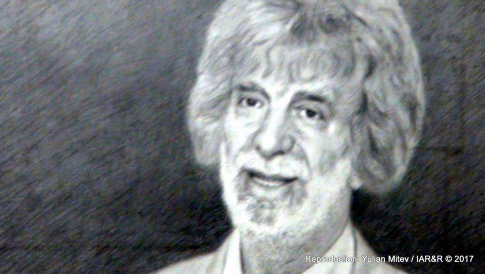 Костадин Събев, портрет на Никола Манев (фрагмент)
