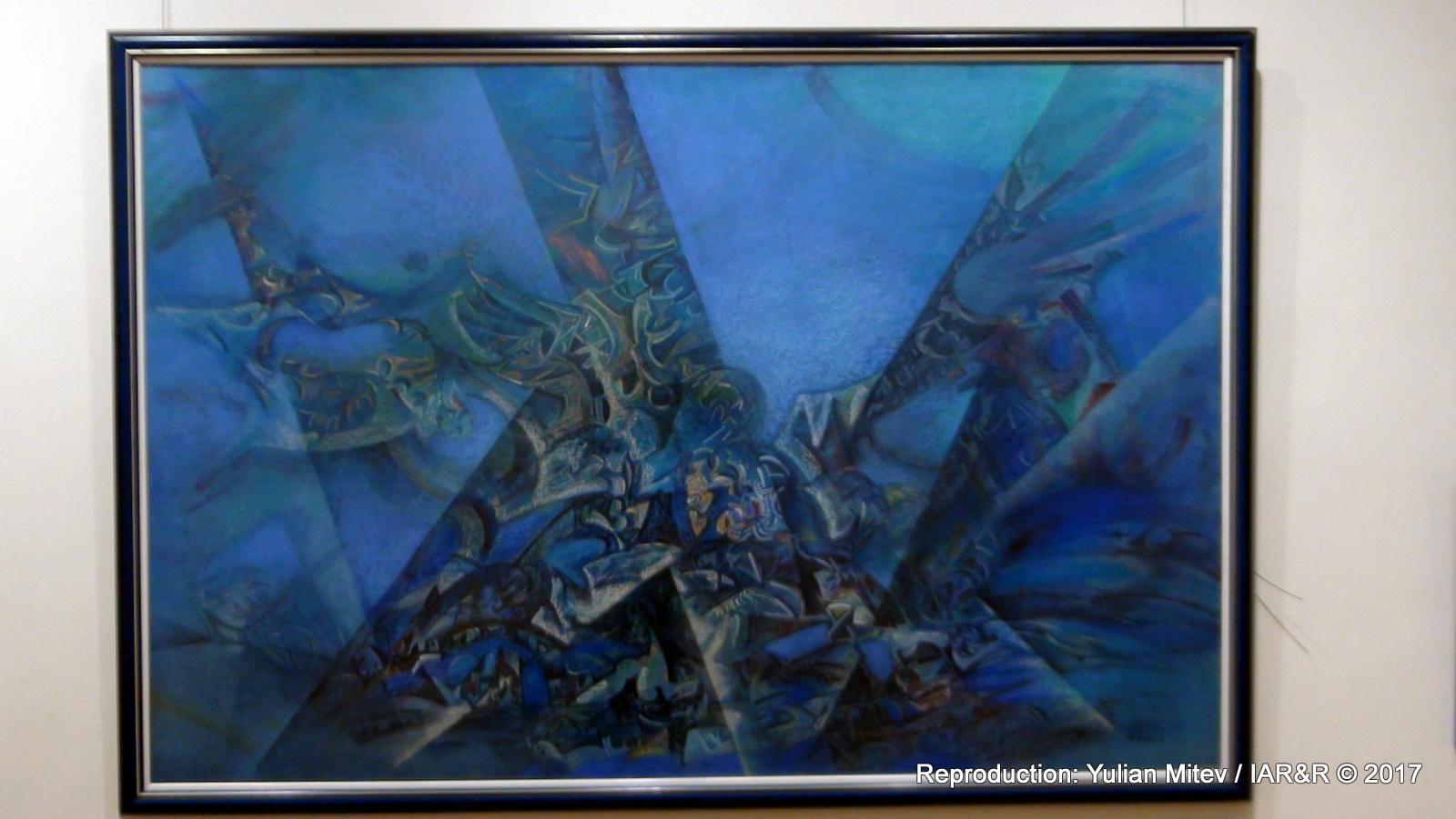 """НИКОЛА МАНЕВ, """"Подводно сияние"""", година на създаване – не е посочена, размери – не са посочени, провенанс – ателието на художника, естимейт 3 500 €"""