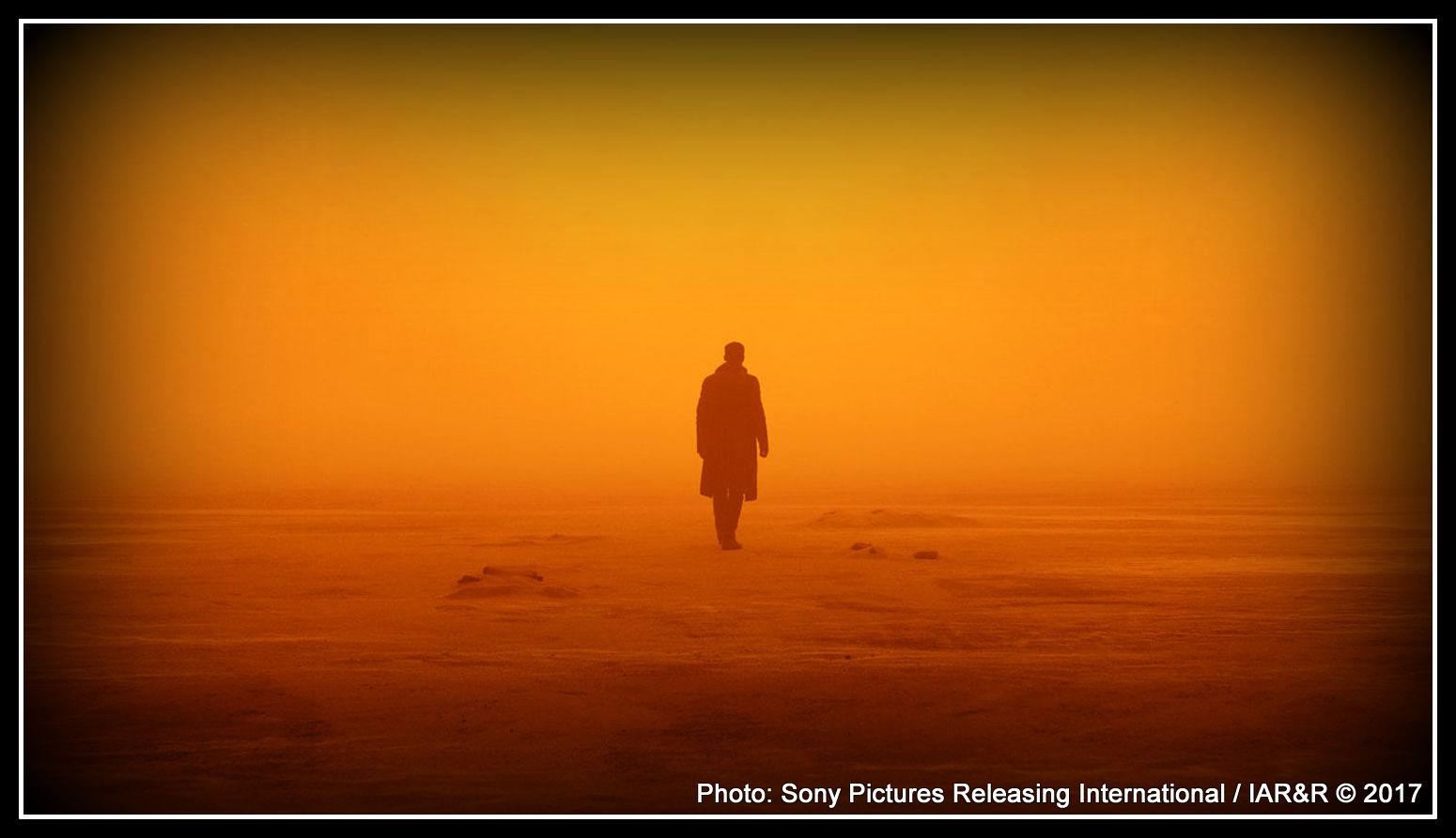 """Пейзажът в неговата кинокартина """"Бягащият по острието"""" се превръща в нещо, което даже не се нуждае от присъствието на персонажи Photo: Sony Pictures Releasing International"""
