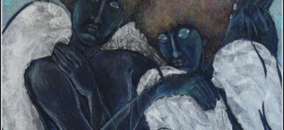 Вяра Панчева, експонат №24 (фрагмент), смесена техника, размери и година на създаване не са написани, провенанс – ателието на художничката