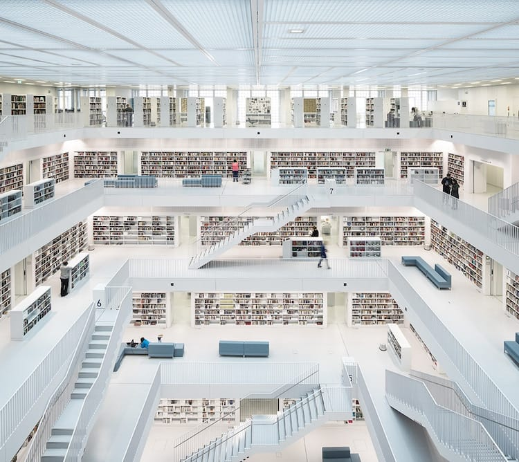 Open Space, City Library. Stuttgart (2014