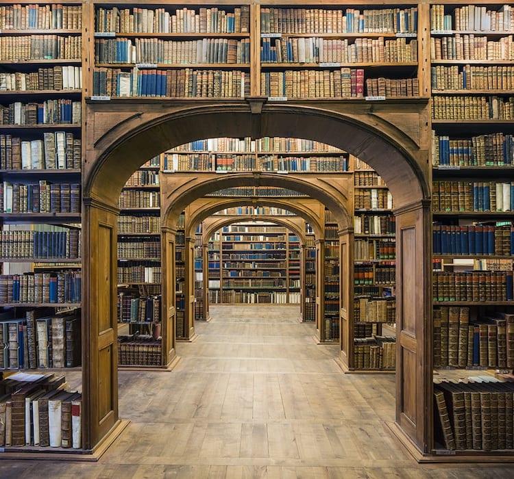 Library Hall, Upper Lusatian Library of Sciences. Görlitz (2015)