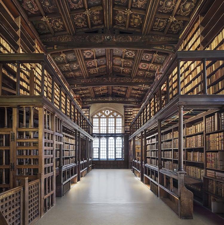Duke Humfrey's Library. Oxford (2017)