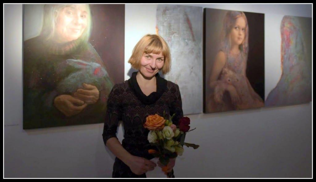 Извънстудиен портрет на Боряна Перчинска. Фото: Антонио Георгиев-Хаджихристов.