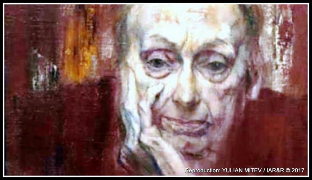 Фрагмент от портрет на Калина тасева, дело на Десислава Минчева