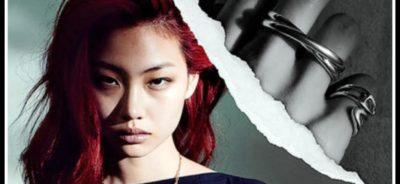 Модели в украшенията от колекцията Chaine d'Ancre Punk