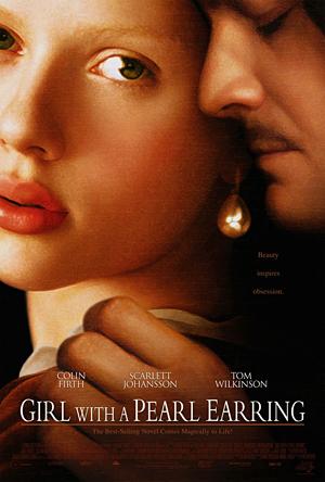 """Плакатът на филма с едноименното заглавие """"Момичето с перлената обица"""""""