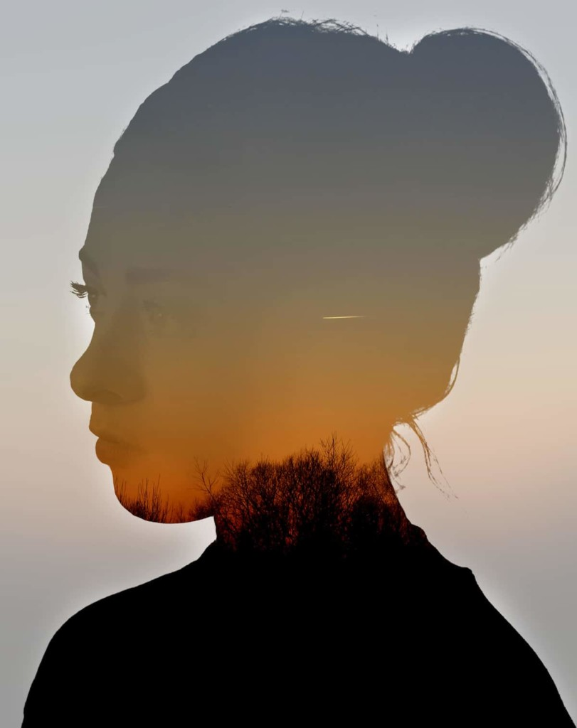 'Sunset Double Exposure' © Poppy Cornell, United Kingdom, Commended, Open, Enhanced (Open competition), 2018 Sony World Photography Awards