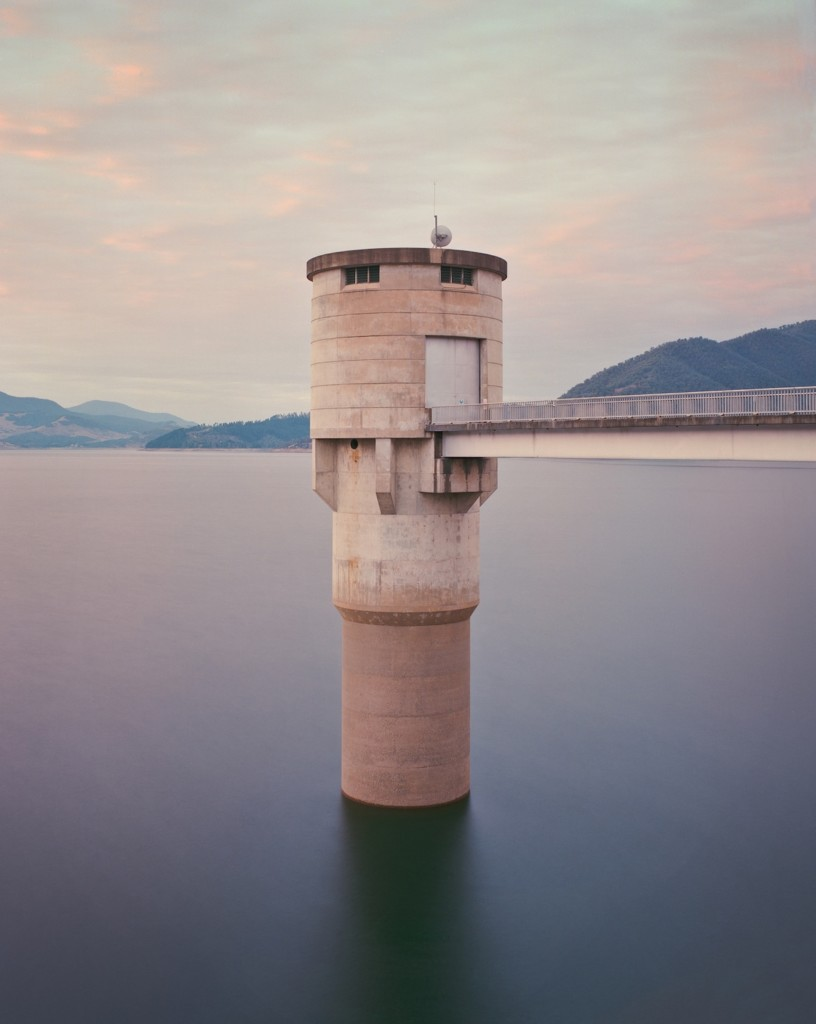 Intake tower, Blowering Reservoir NSW, Australia' © Chris Round, Australia, Commended, Open, Architecture (Open competition), 2018 Sony World Photography Awards