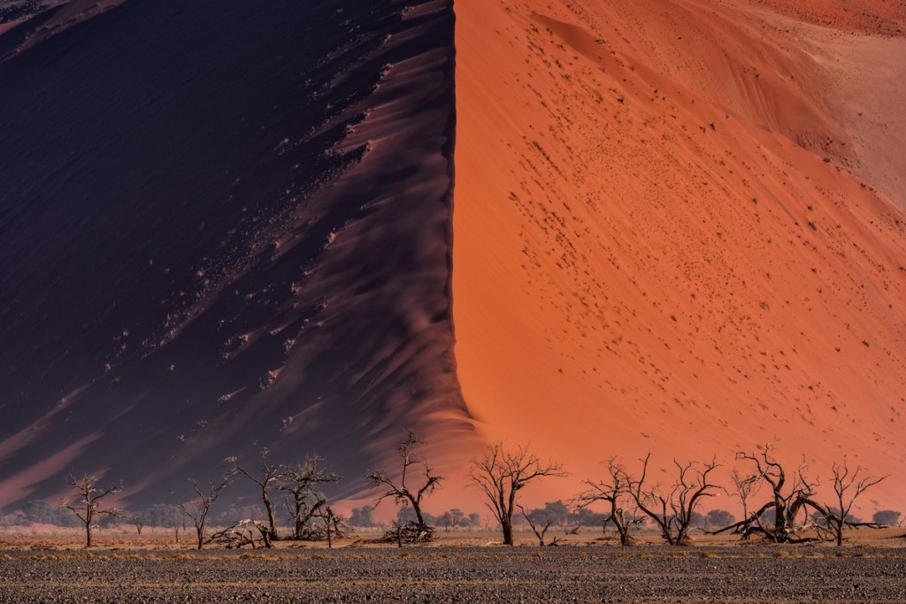 'The Great wall of Namib' © Paranyu Pithayarungsarit, Thailand, Shortlist, Open, Landscape & Nature (2018 Open competition), 2018 Sony World Photography Awards.