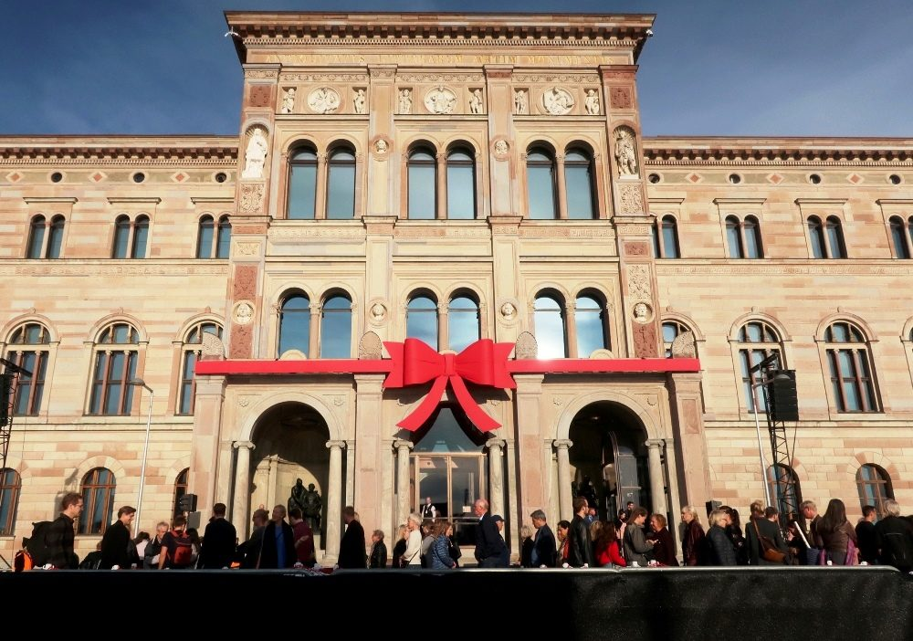 Националният музей на Швеция: модерен отново